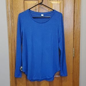Blue Old Navy Long Sleeve